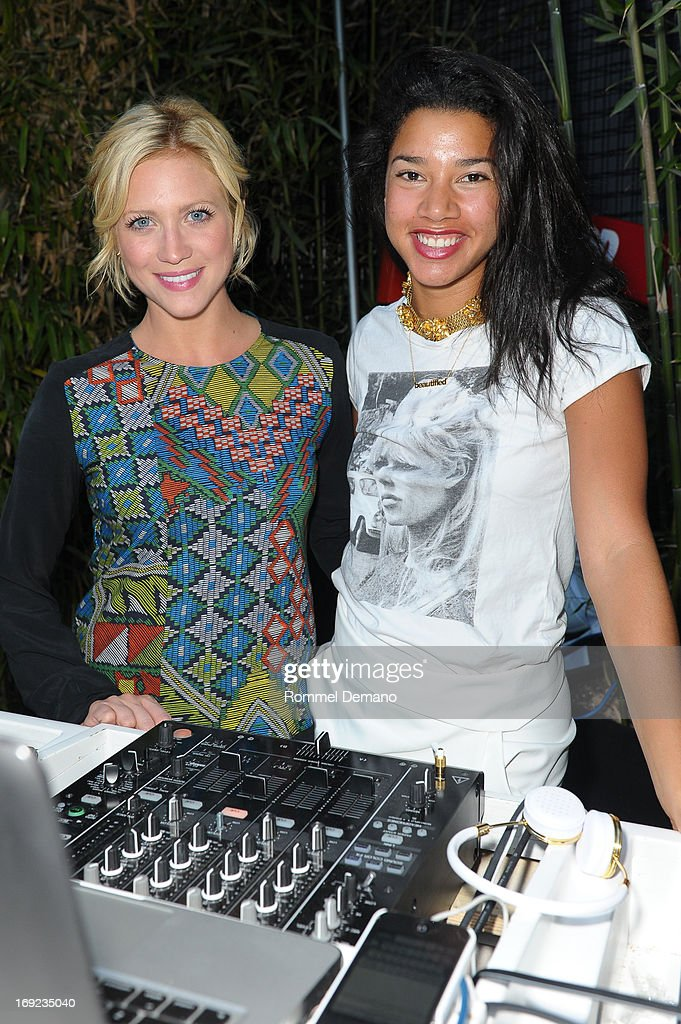 <a gi-track='captionPersonalityLinkClicked' href=/galleries/search?phrase=Brittany+Snow&family=editorial&specificpeople=206624 ng-click='$event.stopPropagation()'>Brittany Snow</a> and Hannah Bronfman attend the 2013 Chandon American Summer Soiree at The Beach at Dream Downtown on May 21, 2013 in New York City.