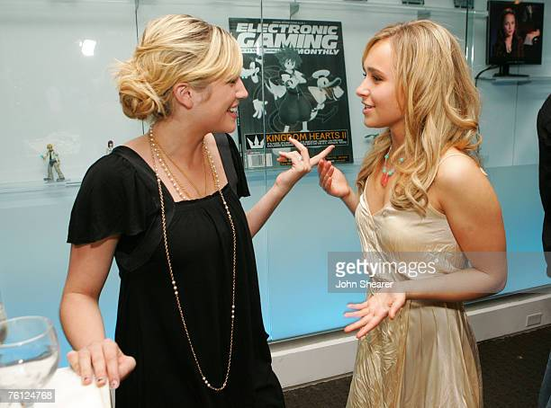 Brittany Snow and Hayden Panettiere