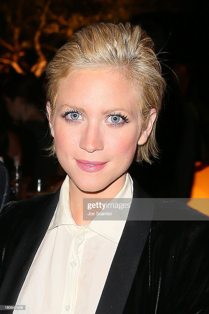 Brittany Snow attends Delta Air Lines' GRAMMY Celebration At Getty House on February 7, 2013 in Los Angeles, California.