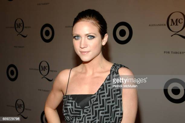 Brittany Snow attends McQ Alexander McQueen for Target Debuts TARGET McQ MARKET in NYC at St John's Center on February 13 2009 in New York City