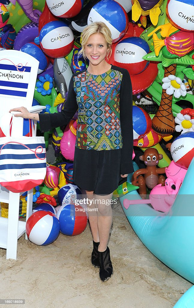 <a gi-track='captionPersonalityLinkClicked' href=/galleries/search?phrase=Brittany+Snow&family=editorial&specificpeople=206624 ng-click='$event.stopPropagation()'>Brittany Snow</a> attends the 2013 Chandon American Summer Soiree at The Beach at Dream Downtown on May 21, 2013 in New York City.