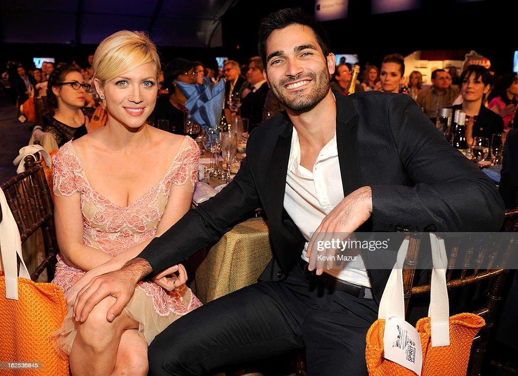 <a gi-track='captionPersonalityLinkClicked' href=/galleries/search?phrase=Brittany+Snow&family=editorial&specificpeople=206624 ng-click='$event.stopPropagation()'>Brittany Snow</a> attends the 2013 Film Independent Spirit Awards at Santa Monica Beach on February 23, 2013 in Santa Monica, California.