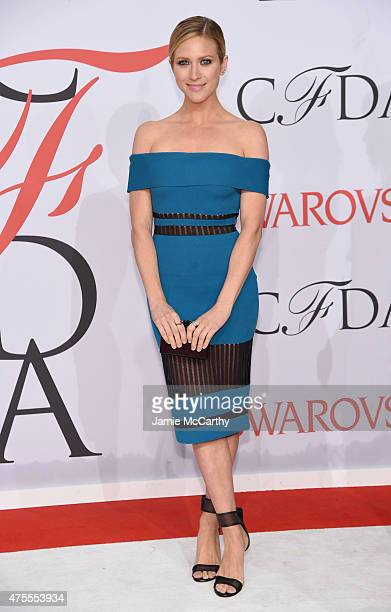 Brittany Snow attends the 2015 CFDA Fashion Awards at Alice Tully Hall at Lincoln Center on June 1 2015 in New York City