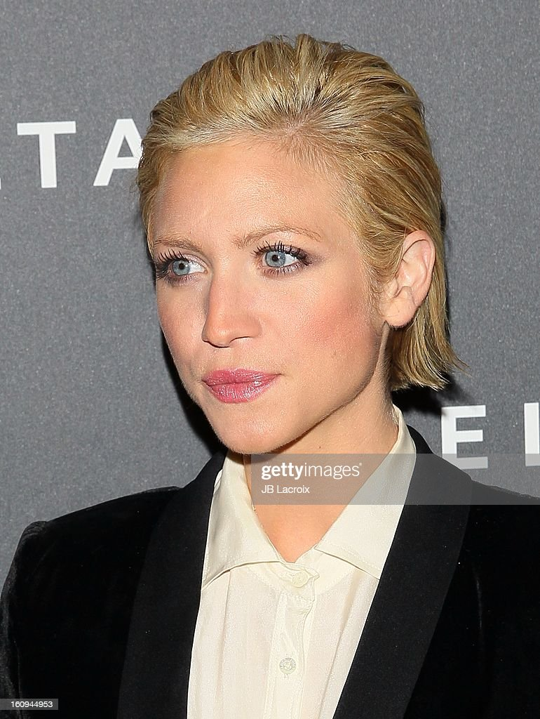 Brittany Snow attends the Delta Airlines GRAMMY Week LA Music Industry held at The Getty House on February 7, 2013 in Los Angeles, California.