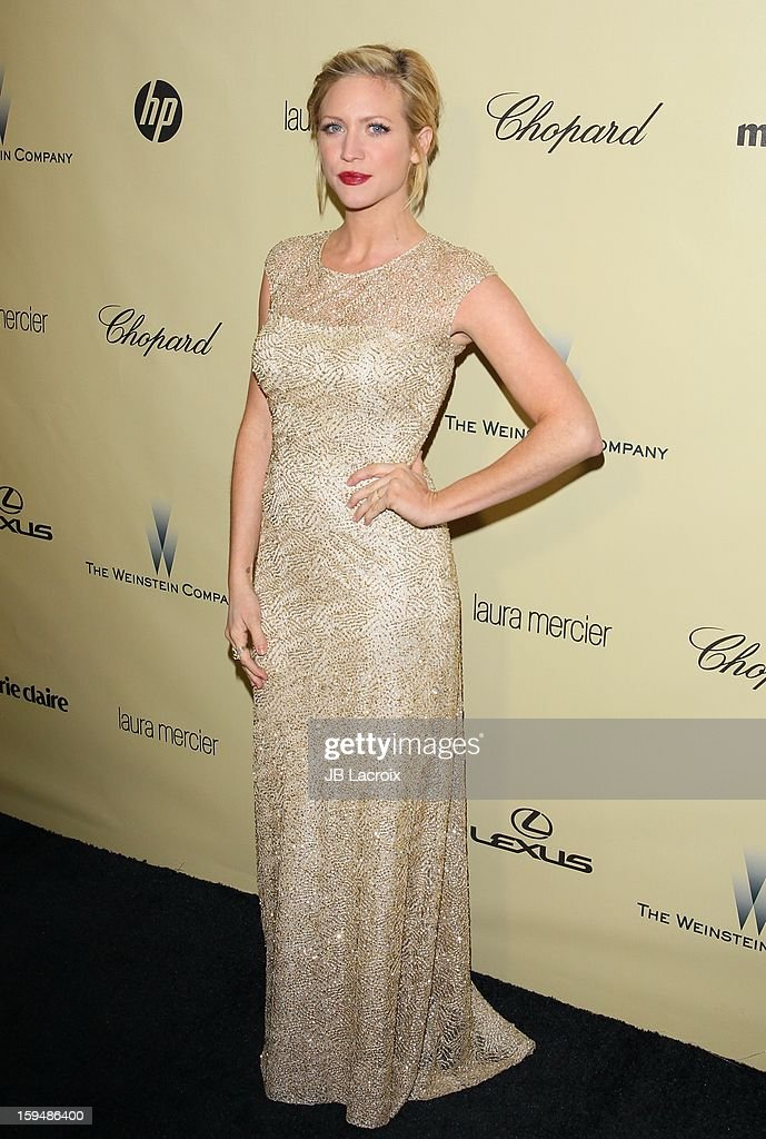 Brittany Snow attends The Weinstein Company's 2013 Golden Globes After Party at The Beverly Hilton Hotel on January 13, 2013 in Beverly Hills, California.