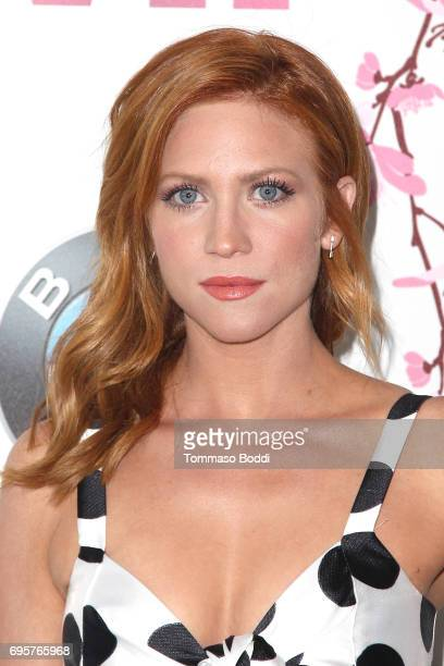 Brittany Snow attends the Women In Film 2017 Crystal Lucy Awards Presented By Max Mara And BMW at The Beverly Hilton Hotel on June 13 2017 in Beverly...