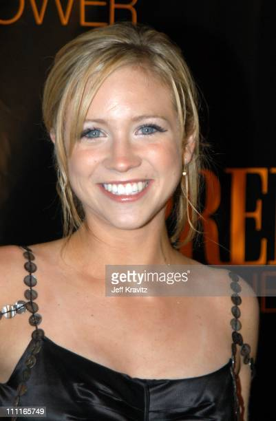 Brittany Snow during Premiere Magazine's The New Power at The Ivar Nightclub in Hollywood California United States