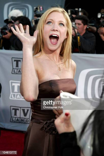 Brittany Snow during The TV Land Awards Arrivals at Hollywood Palladium in Hollywood CA United States