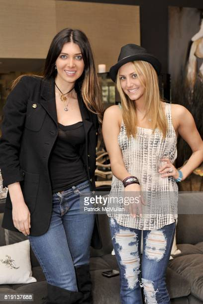 Brittny Gastineau and Cassie Scerbo attend Silver Spoon Presents Oscar Weekend Red Cross Event For Haiti Relief at Interior Illusions on March 3 2010...