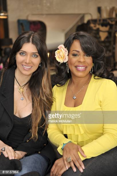 Brittny Gastineau and Niecy Nash attend Silver Spoon Presents Oscar Weekend Red Cross Event For Haiti Relief at Interior Illusions on March 3 2010 in...