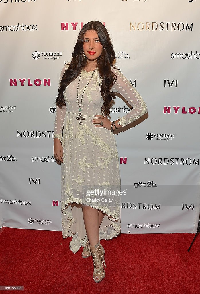 Brittny Gastineau attends NYLON And Onitsuka Tiger Celebrate The Annual May Young Hollywood Issue at The Roosevelt Hotel on May 14, 2013 in Hollywood, California.