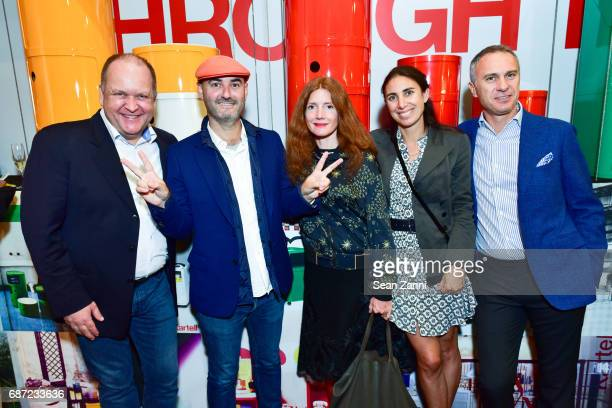 Brix Pedersen Augenie Quitllet Maude Murray Lorenza Luti and Gilberto Negrini attend Kartell Tribute to Componibili 50th Anniversary at Kartell...