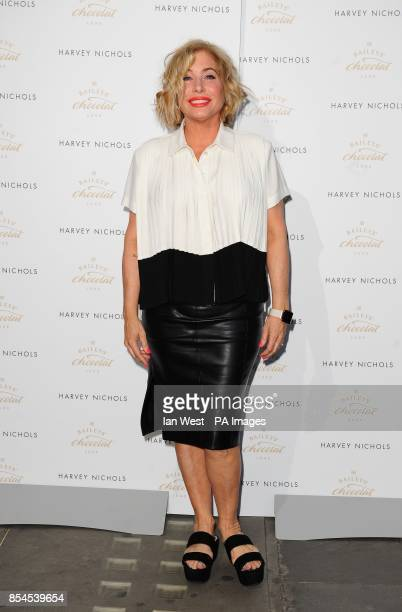 Brix Smith Start attending the Baileys Feaster Egg Hunt at Harvey Nichols in London