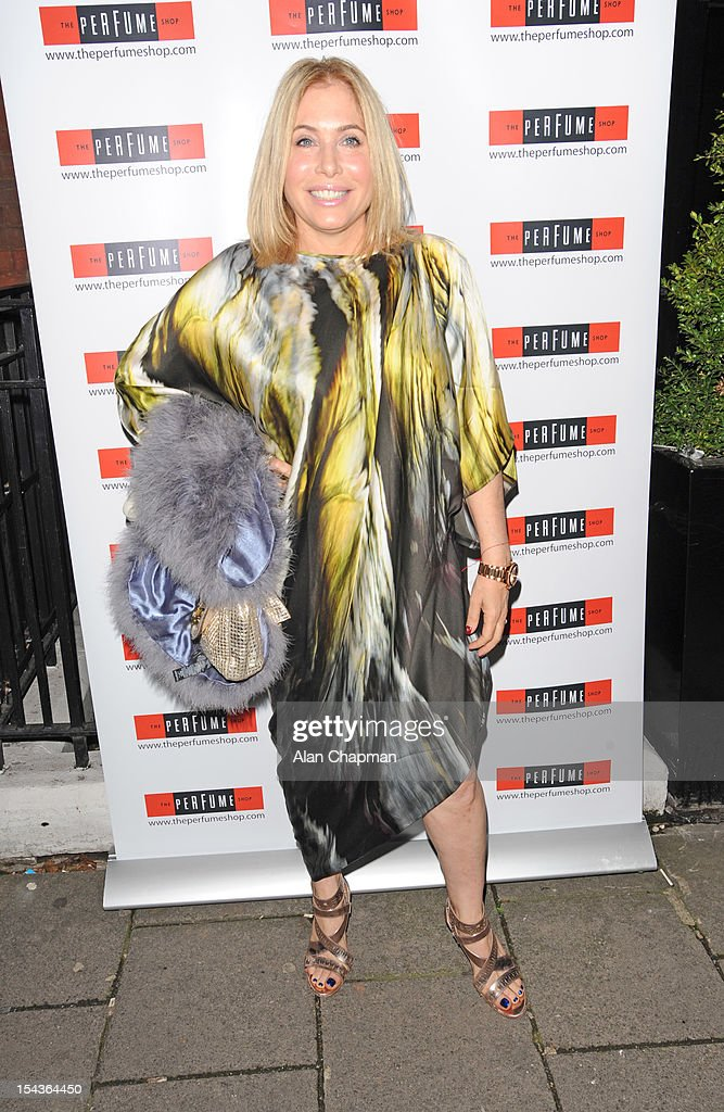 Brix Smith Start attends the Love Perfume Awards on October 18, 2012 in London, England.