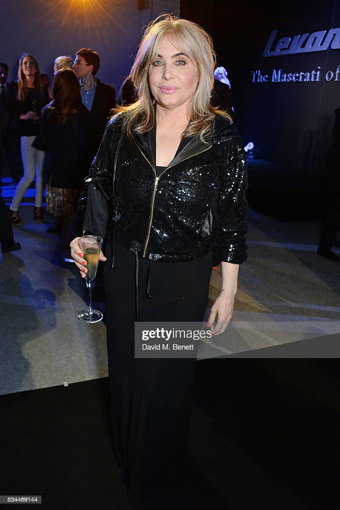 <a gi-track='captionPersonalityLinkClicked' href=/galleries/search?phrase=Brix+Smith&family=editorial&specificpeople=4271378 ng-click='$event.stopPropagation()'>Brix Smith</a> Start attends the UK VIP reveal of the Maserati Levante SUV at The Royal Horticultural Halls on May 26, 2016 in London, England.