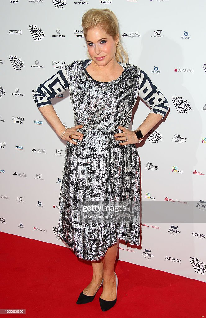Brix Smith Start attends the WGSN Global Fahsion awards at Victoria & Albert Museum on October 30, 2013 in London, England.