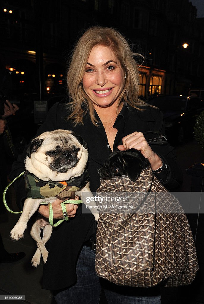 Brix Smith Start joins VIP (very important pooches)of the furry variety took to Mayfair members' club George on Tuesday 19th March in aid of Dogs Trust to launch a dog friendly menu. Yasmin Le Bon, Patrick Cox and Tuuli Shipster and their four-legged friends joined members to celebrate the new dishes in aid of the UK's largest dog welfare charity, Dogs Trust at The George Club on March 19, 2013 in London, England.