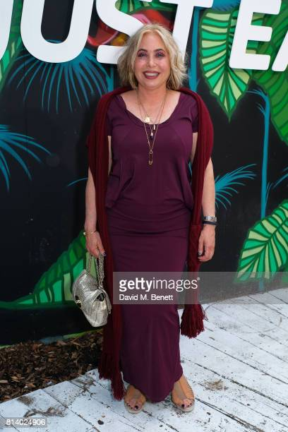 Brix Smith Start pictured at the VIP launch of Just Eat Food Fest Desert Island Dishes in Red Market London The threeday desert islandinspired street...