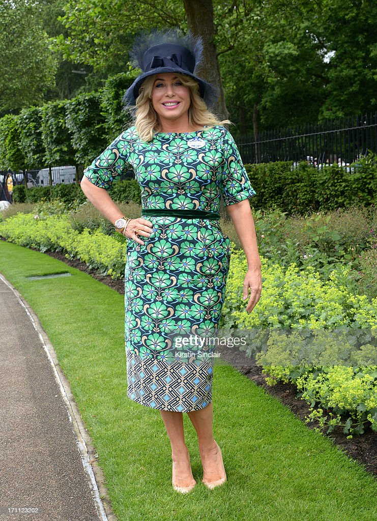 Brix Smith-Start attends day five of Royal Ascot at Ascot Racecourse on June 22, 2013 in Ascot, England.