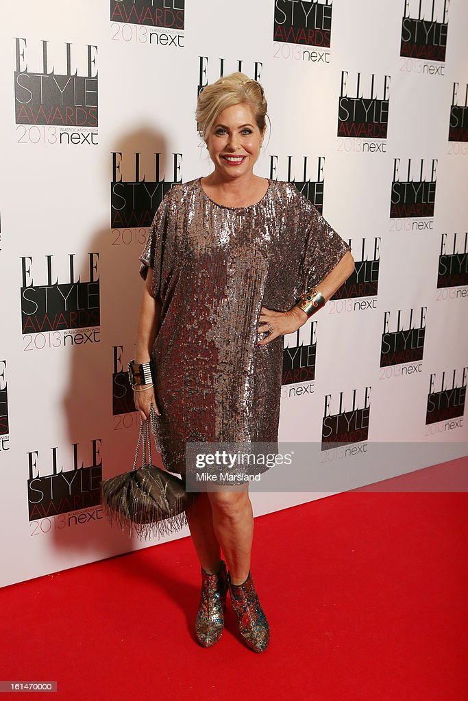 Brix Smith-Start attends the Elle Style Awards 2013 at The Savoy Hotel on February 11, 2013 in London, England.