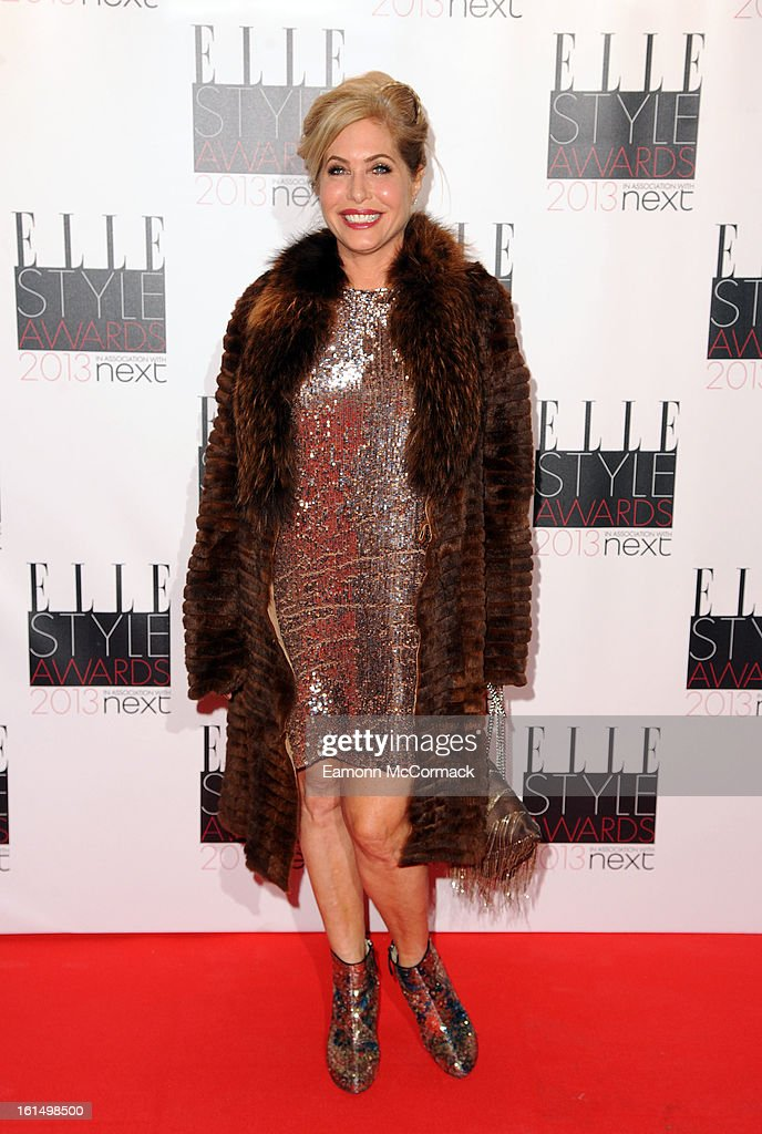 Brix Smith-Start attends the Elle Style Awards 2013 on February 11, 2013 in London, England.