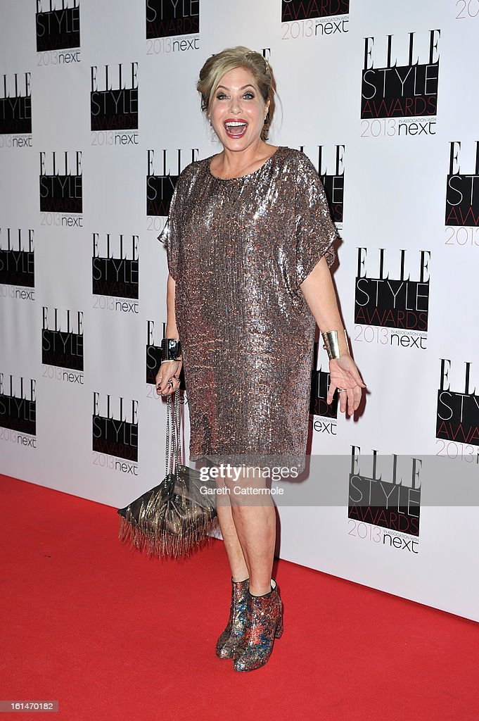Brix Smith-Start attends the Elle Style Awards at The Savoy Hotel on February 11, 2013 in London, England.