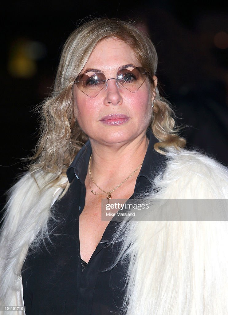 Brix Smith-Start attends the private view of 'David Bowie Is' at Victoria & Albert Museum on March 20, 2013 in London, England.