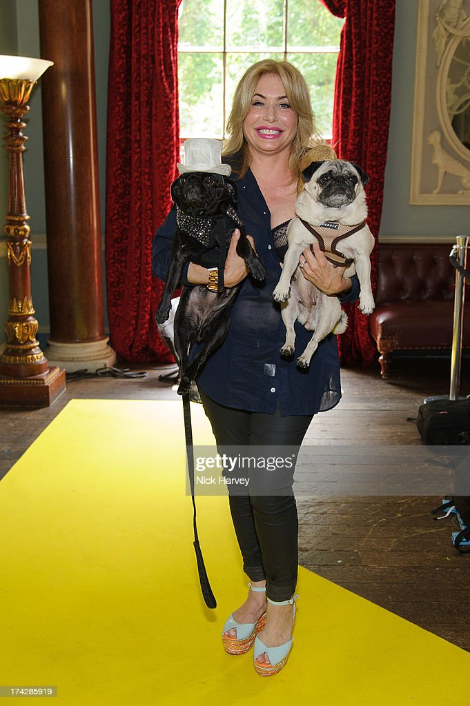 Brix Smith-Start with Gladys and Pixie attends the Dogs Trust Honours 2013 at Home House on July 23, 2013 in London, England.