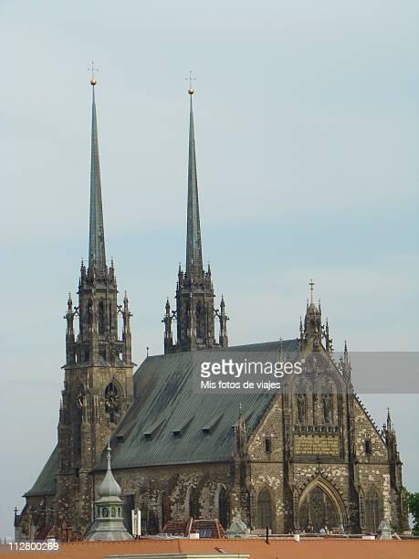 Brno catedral ,Chequia