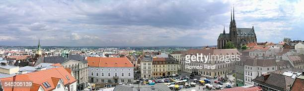 Brno - panorama from the old city