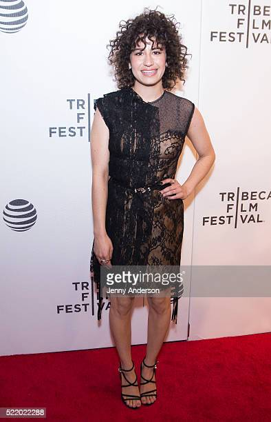 'Broad City' star Ilana Glazer attends 2016 Tribeca Film Festival at Spring Studios on April 17 2016 in New York City