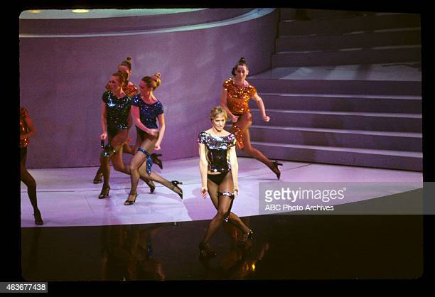 April 11 1983 DANCER SANDAHL BERGMAN PERFORMING TO 'EYE OF THE TIGER' FROM 'ROCKY III'