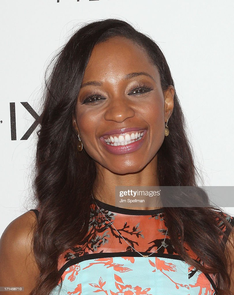 Broadcast Journalist and television personality Cari Champion attends 'Venus Vs' and 'Coach' New York Special Screening at Paley Center For Media on...