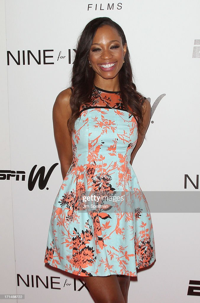 Broadcast Journalist and television personality Cari Champion attends 'Venus Vs.' and 'Coach' New York Special Screening at Paley Center For Media on June 24, 2013 in New York City.