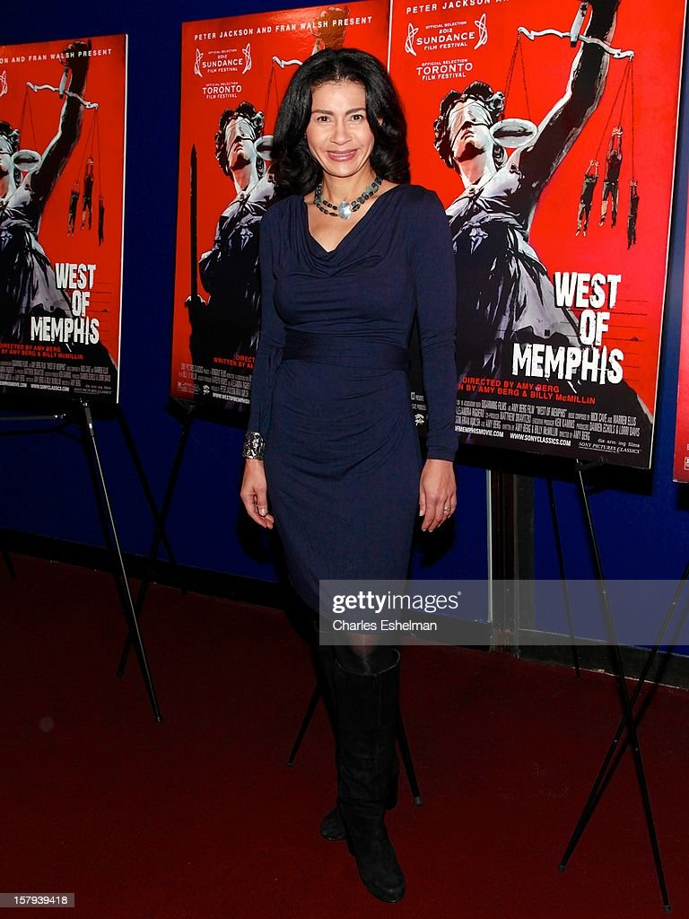 Broadcast journalist Jami Floyd attends the 'West Of Memphis' premiere at Florence Gould Hall on December 7, 2012 in New York City.