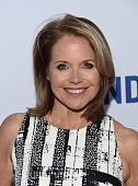 Broadcast journalist Katie Couric arrives at the premiere of EPIX's 'Under The Gun' at the Samuel Goldwyn Theater on May 3 2016 in Beverly Hills...