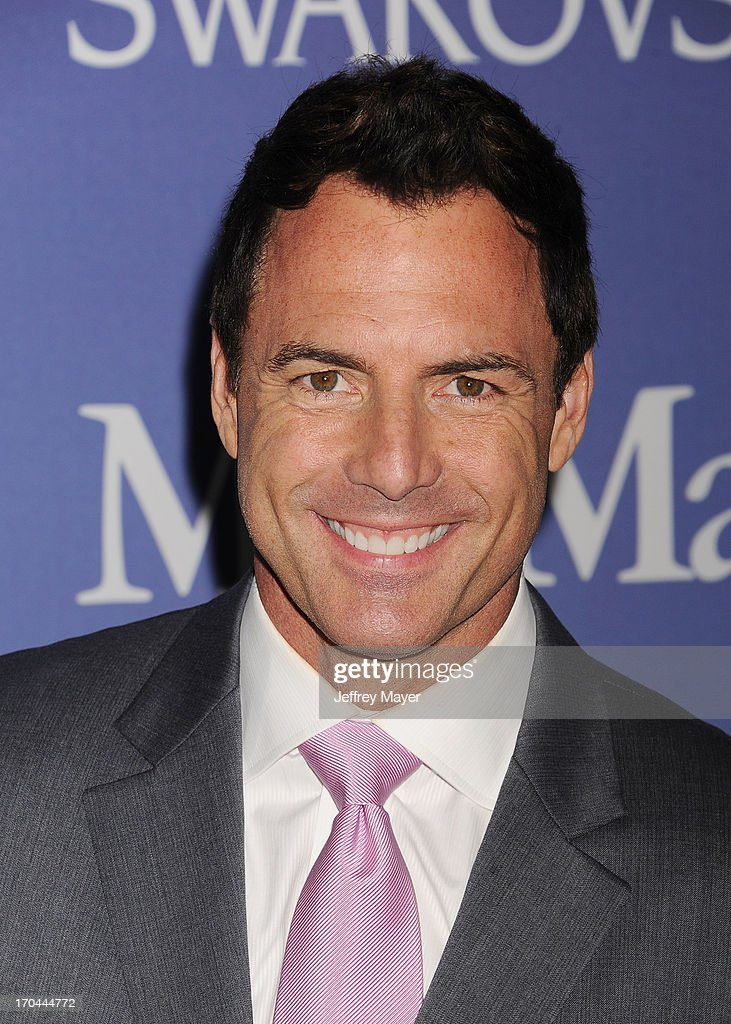 Broadcast journalist Mark Steines attends Women In Film's 2013 Crystal + Lucy Awards at The Beverly Hilton Hotel on June 12, 2013 in Beverly Hills, California.