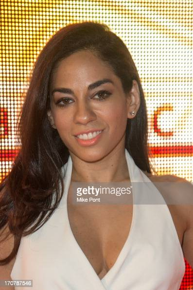 Broadcast Journalist Sharon Carpenter attends The 40/40 Club 10 Year Anniversary Party at 40 / 40 Club on June 17 2013 in New York City