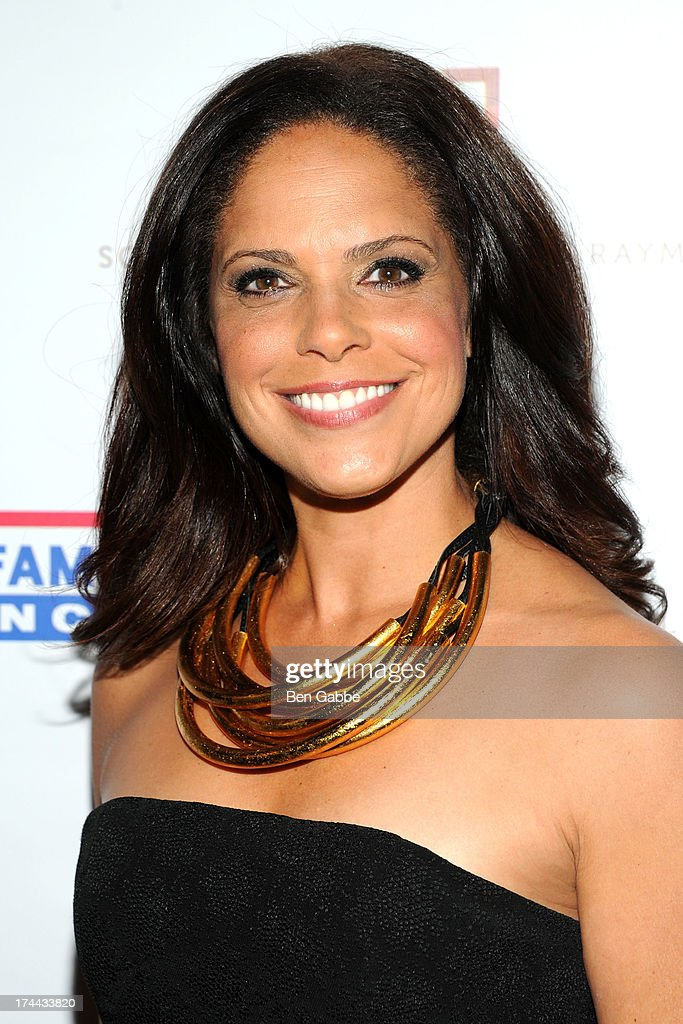 Broadcast journalist <a gi-track='captionPersonalityLinkClicked' href=/galleries/search?phrase=Soledad+O%27Brien&family=editorial&specificpeople=223926 ng-click='$event.stopPropagation()'>Soledad O'Brien</a> attends New Orleans To New York City Benefit Gala at Donna Karen's Stephen Weiss Studio on July 25, 2013 in New York City.