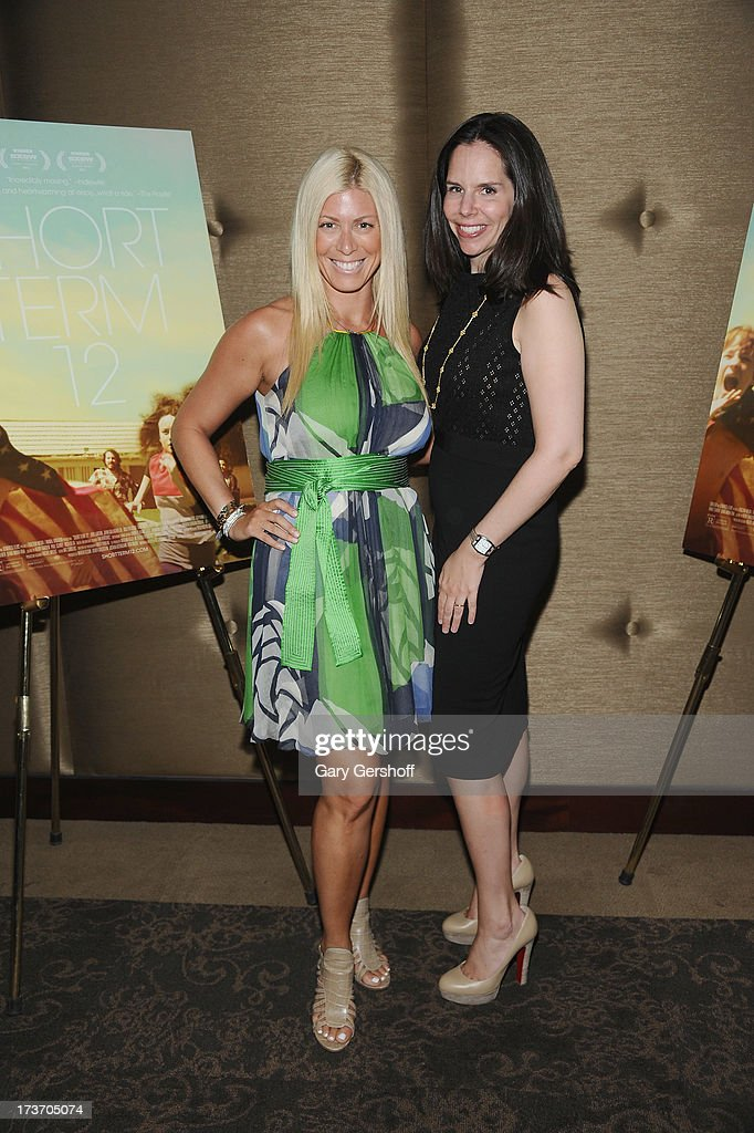 Broadcast personality Jill Martin (L) and journalist/publisher Moira Forbes attend the 'Short Term 12' New York Special Screening at Dolby 88 Theater on July 16, 2013 in New York City.