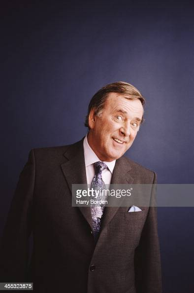Broadcaster and tv presenter Terry Wogan is photographed in London United Kingdom