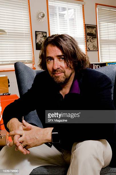 Broadcaster author and comic book collector Jonathan Ross at his London office July 15 2011