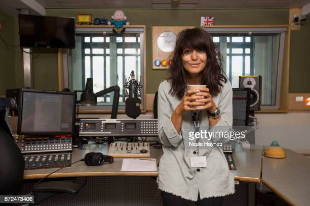 Broadcaster Claudia Winkleman is photographed for Event magazine on August 14 2017 in London England