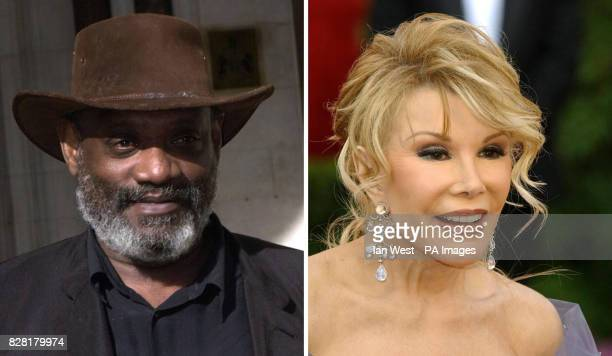 Broadcaster Darcus Howe and comedienne Joan Rivers who turned the Radio 4 airwaves blue today with a blazing row on the normally genteel Midweek...