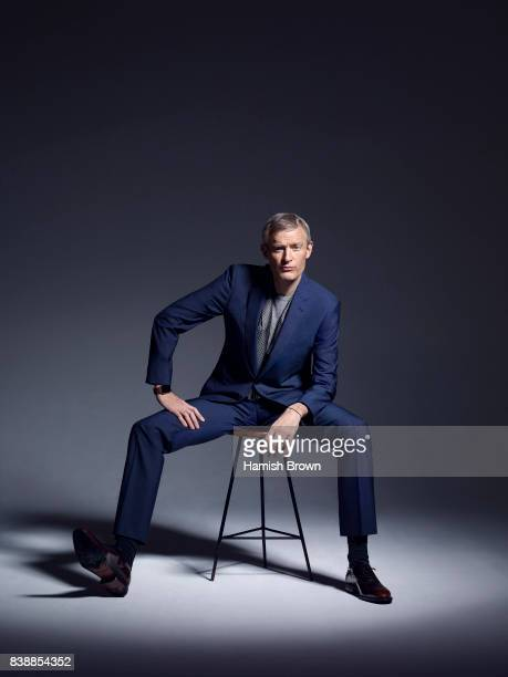 Broadcaster Jeremy Vine is photographed for Red magazine on December 14 2015 in London England