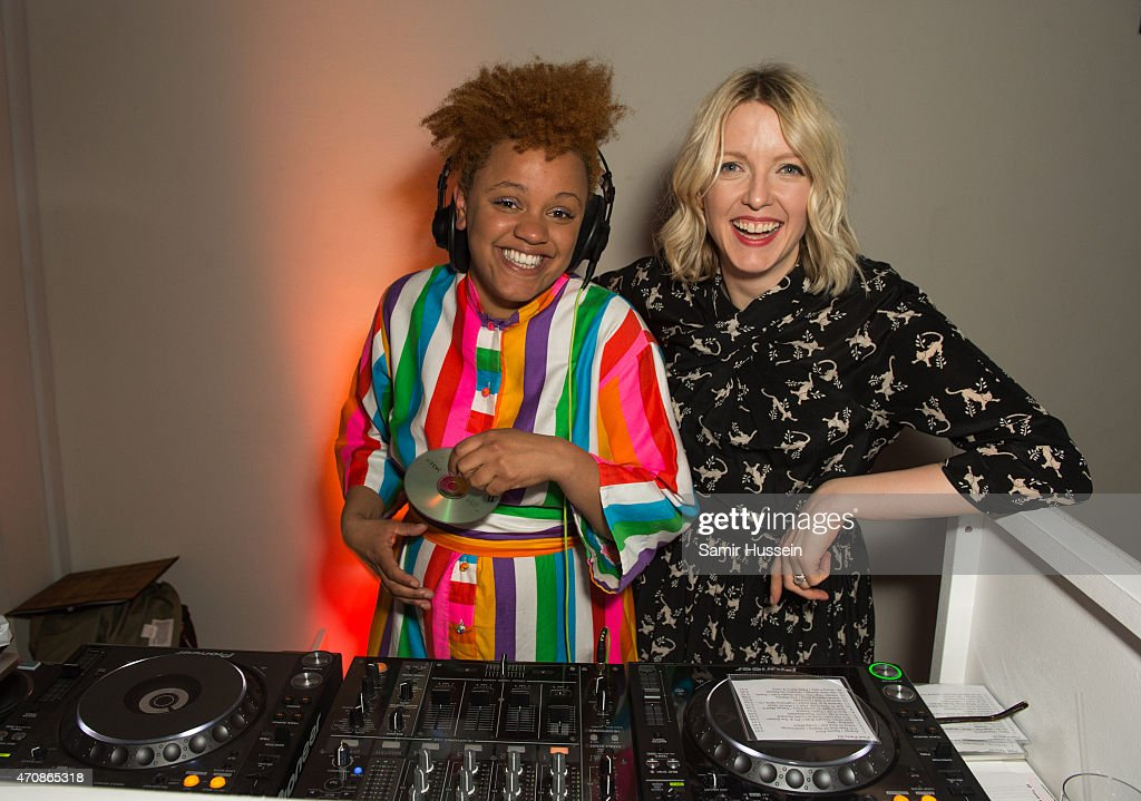 Broadcaster Lauren Laverne joins DJ Gemma Cairney behind the decks at a launch party for The Pool their new cofounded multimedia platform for busy...