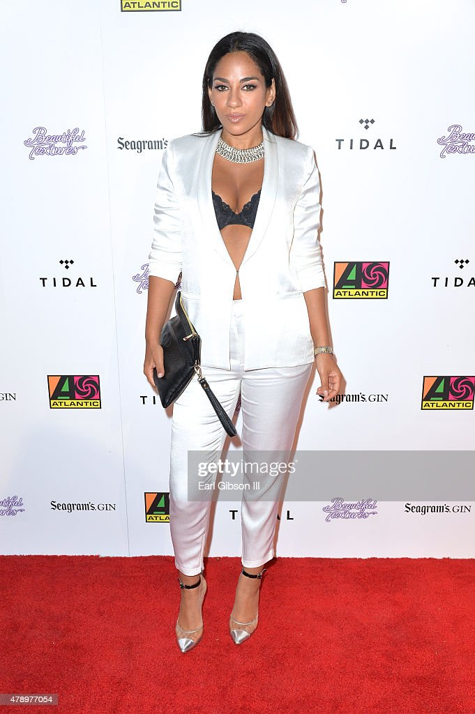 Broadcaster Sharon Carpenter attends Tidal Presents The Atlantic Records 2015 BET Awards After Party at HYDE Sunset Kitchen Cocktails on June 28 2015...