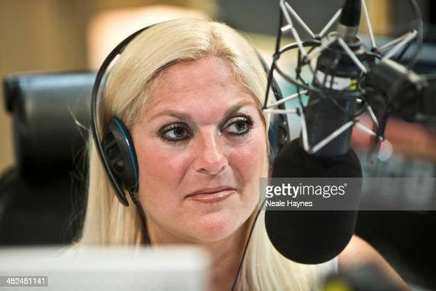 Broadcaster Vanessa Feltz is photographed for Event magazine in London England