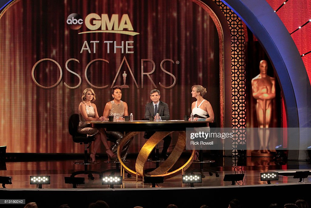 Good Morning America Los Angeles : Abc s quot good morning america  getty images