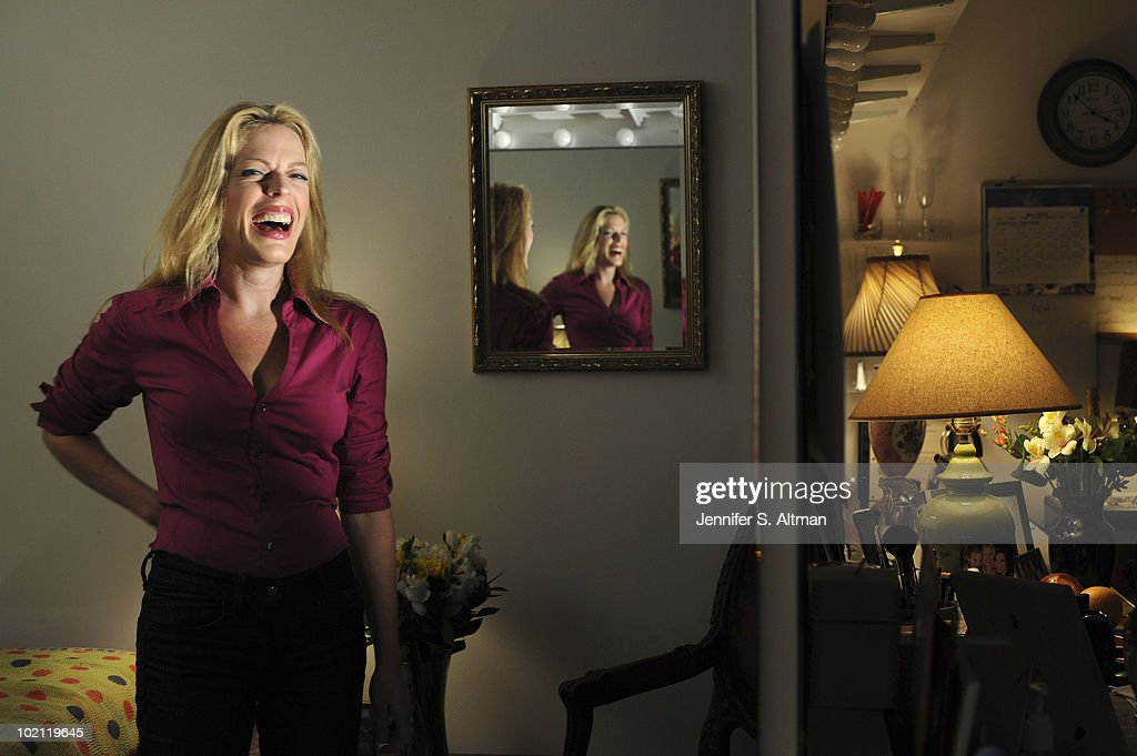 Broadway actress Sherie Rene Scott poses at a portrait session for the Los Angeles Times in New York, NY on June 13, 2010. (Photo by Jennifer S. Altman/ Contour by Getty Images).